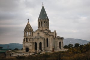 The Cathedral of the Holy Saviour in Shusha, Nagorno-Karabakh