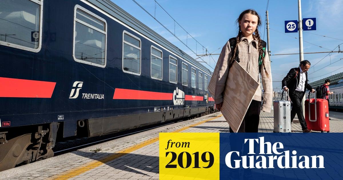 Greta Thunberg S Train Journey Through Europe Highlights No Fly