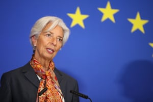 European Central Bank President Christine Lagarde.