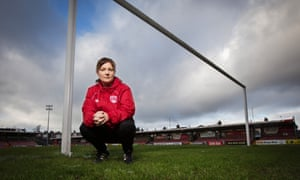 Lisa Fallon helped Northern Ireland to Euro 2016 and is now first-team coach at Cork City
