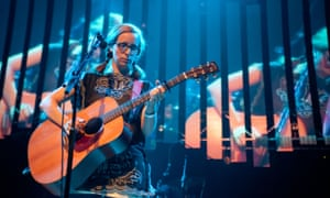 Laura Veirs performs at the 10h Summer Sundae Weekender at De Montfort Hall And Gardens on August 14, 2010 in Leicester, England.