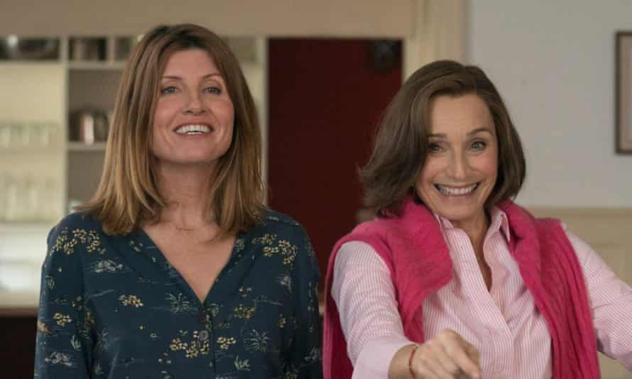 Change the tune... Sharon Horgan and Kristin Scott Thomas in Military Wives.