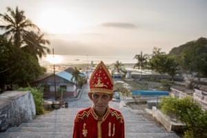 Jan Piter Renuth is the Raja of Loorlobay, one of three kings on Kei Besar, a small island in Indonesia's eastern Maluku regency.