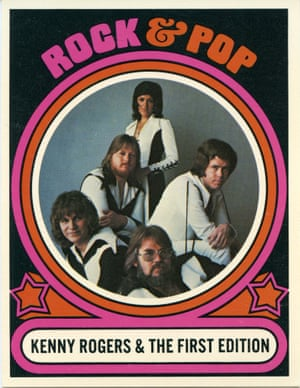 A Rock and Pop Card from 1970