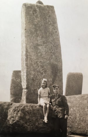 Stonehenge in 1941 by Joyce Leeson.