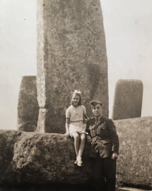 Sgt Obs Douglas Brian McLaren with his younger sister, Joyce, shortly before he went missing in action.