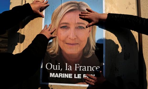 Marine Le Pen poster