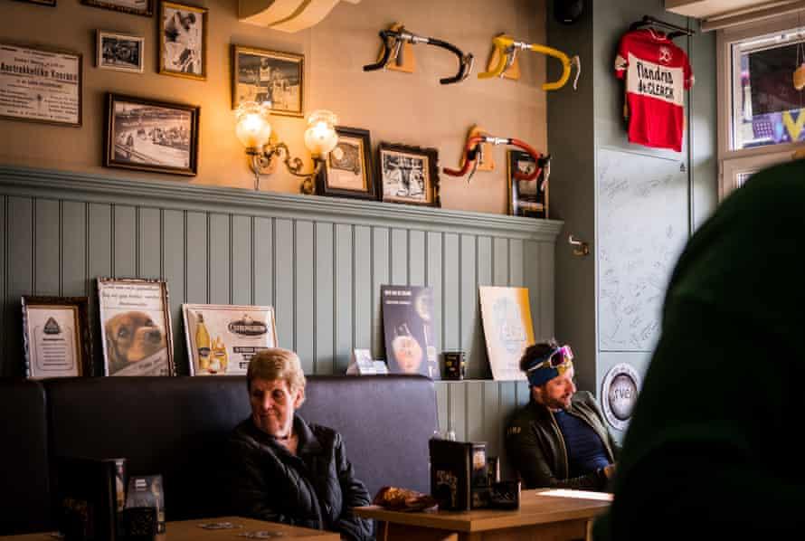 Bradley Wiggins in Bar Gidon