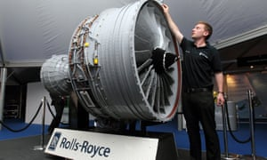 A graduate trainee at Rolls Royce in Derby