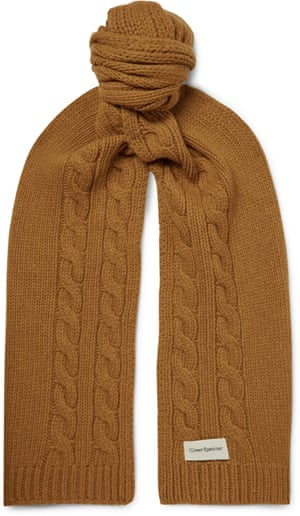 Wool scarf, £110, by Oliver Spencer, from mrporter.com