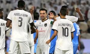 Xavi Hernández in Qatar