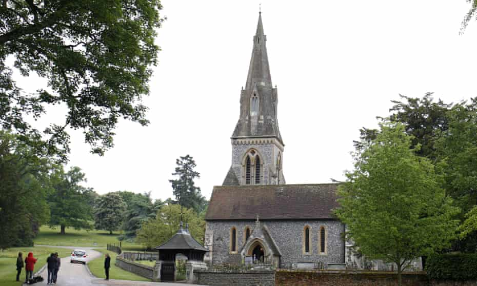 The venue for the 'wedding of the year': St Mark's church, Englefield