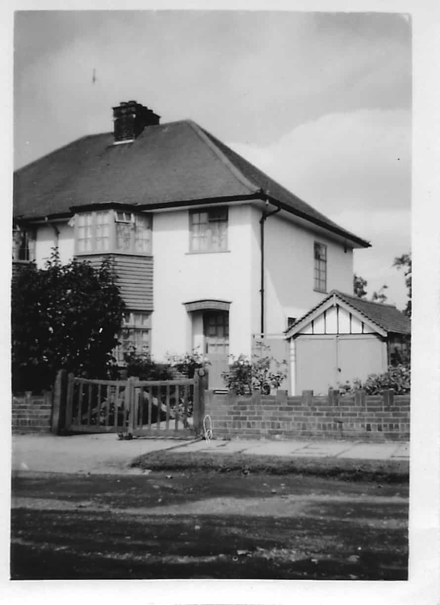 The Thorn family home in Brookmans Park, Herts.