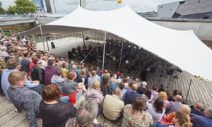 BBC Proms at Stage @ the Dock, Hull, conducted by Nicholas McGegan, 22 July 2017.