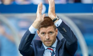Rangers manager Steven Gerrard saw his side claim their first victory in Europe for ten years against the Croatian side Osijek on Thursday night.