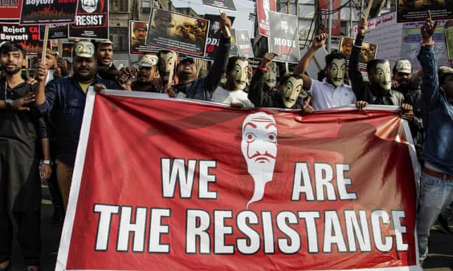 Protest in Kolkata
