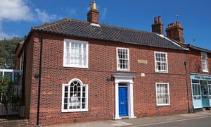 Down and out in Suffolk: Montague House, Southwold, the family home of George Orwell.