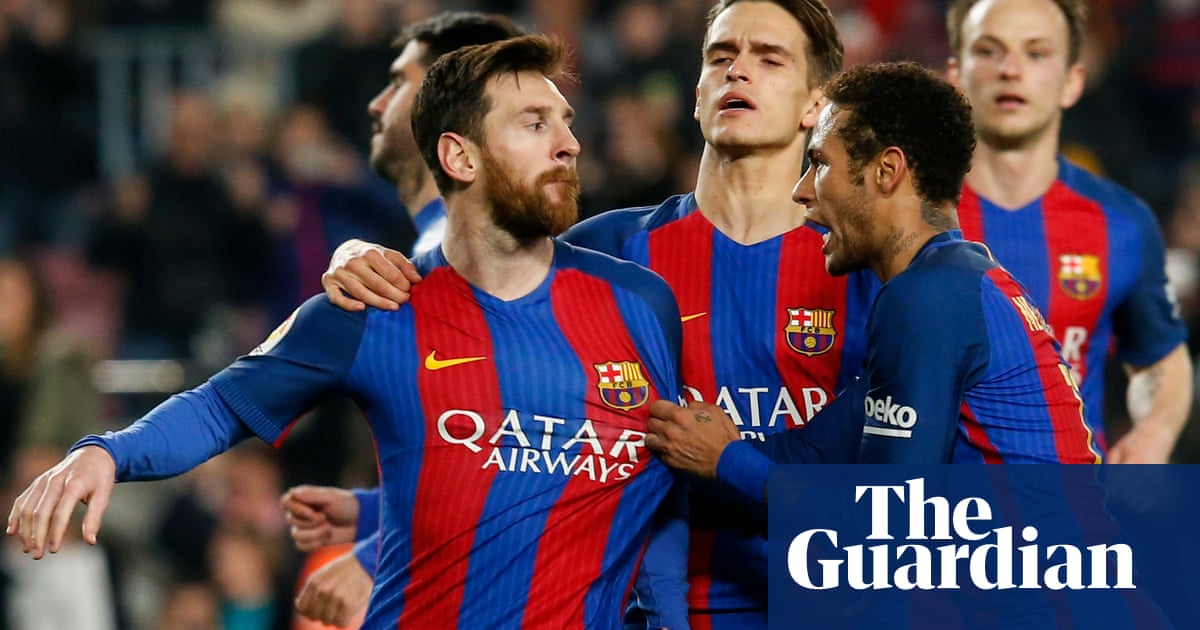 fb67299402e Lionel Messi pulls Barcelona back from the brink