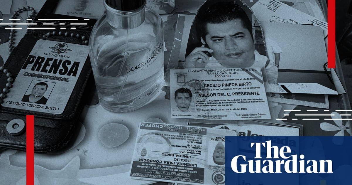 Revealed: murdered journalist's number selected by Mexican NSO client