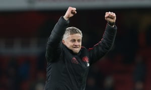Ole Gunnar Solskjær saw his Manchester United side defeat Arsenal