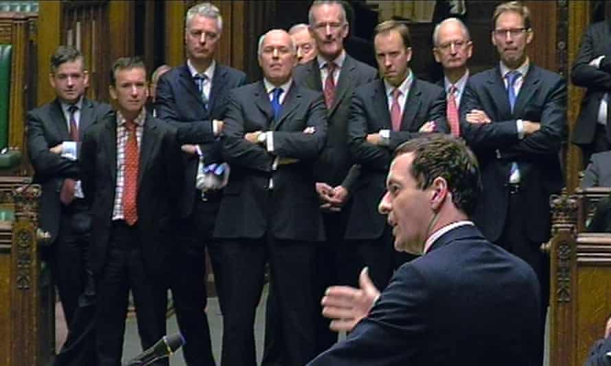 George Osborne speaks in the Commons during the debate on the charter for budget responsibility.