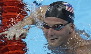 Jimmy Feigen during a training session in Rio