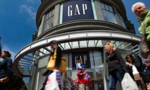Gap store in San Francisco