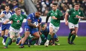 Poirot in action in the narrow defeat to Ireland in Paris on the opening Six Nations weekend.