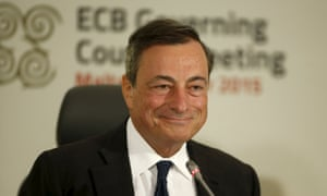 European Central Bank (ECB) president Mario Draghi addresses a news conference after a meeting of the ECB Governing Council in St Julian's, outside Valletta, Malta, October 22, 2015. European Central Bank President Mario Draghi said on Thursday monetary policy alone cannot solve the euro zone's economic problems and called on member countries to take additional actions alongside. REUTERS/Darrin Zammit Lupi MALTA OUT. NO COMMERCIAL OR EDITORIAL SALES IN MALTA