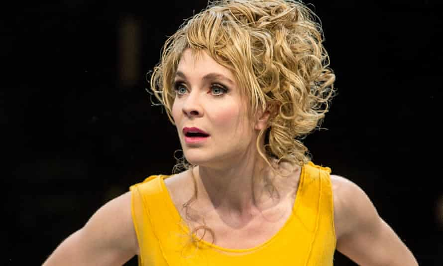 'Dazzling': Kaisa Hammarlund in Sweet Charity at the Royal Exchange.