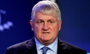 Denis O'Brien, the Irish media mogul, who has sued Red Flag.