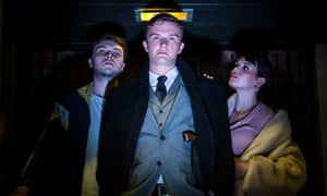 Simmering tensions … Crooks by Colab Theatre Group.