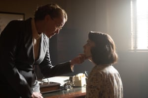 Keeley Hawes and Emma Appleton in Traitors.