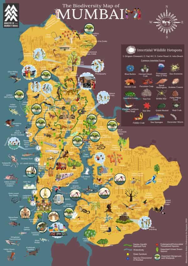 Mumbai's nature map