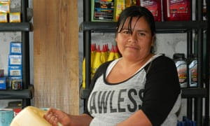 Julia Aguilar in her shop in San Mart°n Peras, an isolated rural town in the Juxtlahuaca district (3)