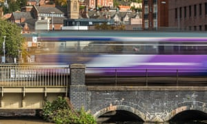 A train passes through Lincoln. The proposals come in the Rail Delivery Group's submission to the Williams review.
