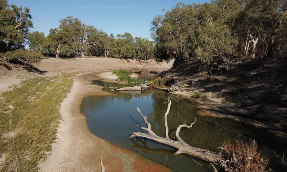 the dry Murray Darling