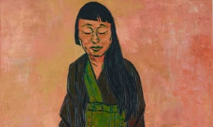 Sydney artist Tony Costa's portrait of artist Lindy Lee, which was won the 2019 Archibald prize