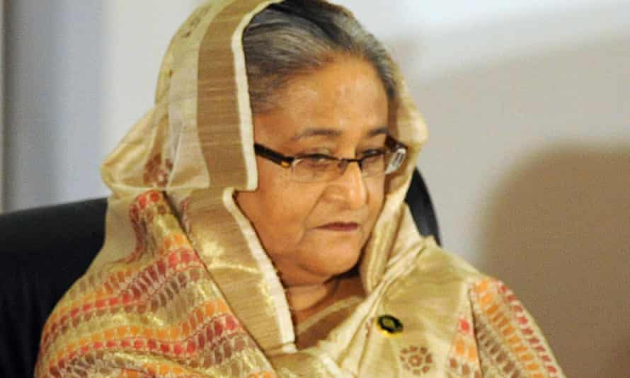 Sheikh Hasina, the prime minister of Bangladesh