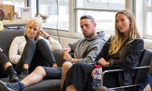 Born Social joint md Charlotte Hamill (right) with colleagues