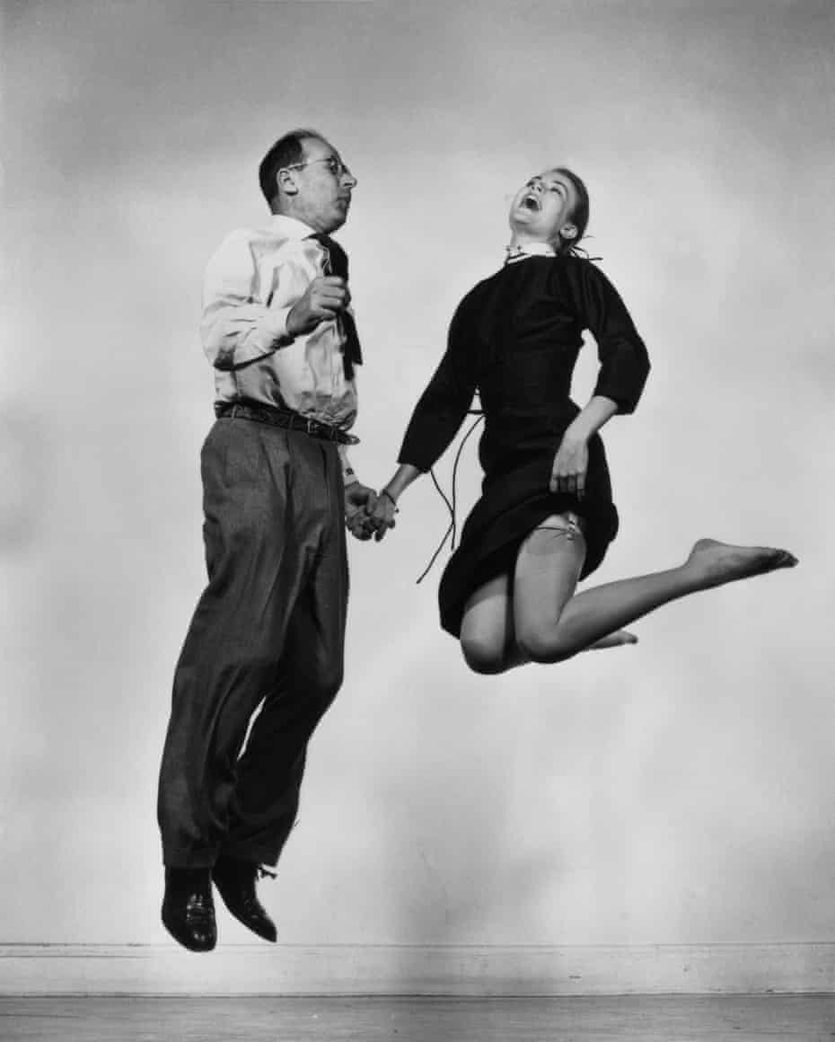 Philippe Halsman and Grace Kelly.