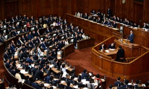 The lower house of the Japanese parliament.