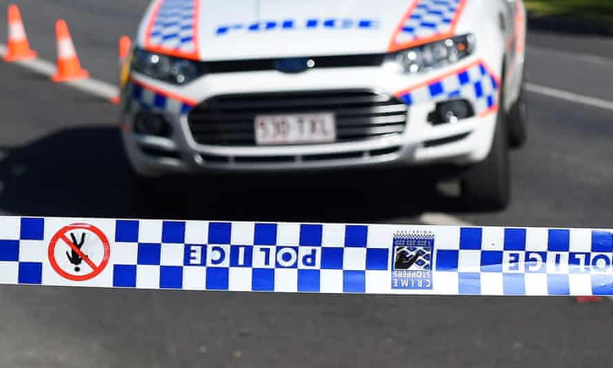Police and paramedics were unable to resuscitate a man who was stabbed at an Ipswich home in Queensland on Christmas Day.
