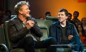 Gordon Ramsay and Jesse Eisenberg  in Top Gear