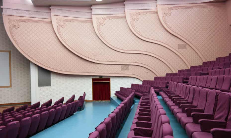 The interior of the recently rebuilt National Theatre.
