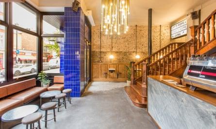 Lobby at Pilgrm Hotel, Paddington, London