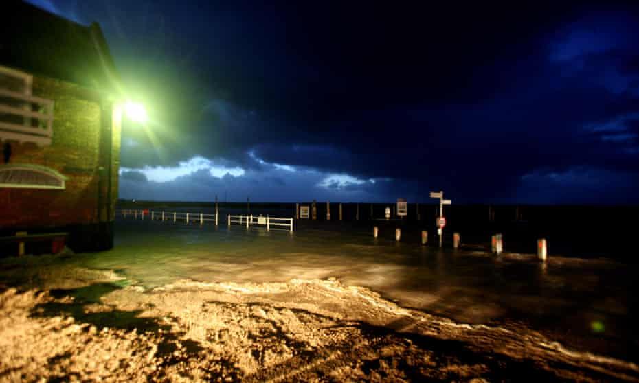 High tides in Blakeney … the Norfolk coast features in Elizabeth Heathcote's Undertow.