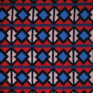 Metropolitan line seat fabric design