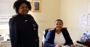 Forensic nurses Teddy Ceba and Mabel Qhathatsi feature in a film by Simisola Jolaoso about their specialism