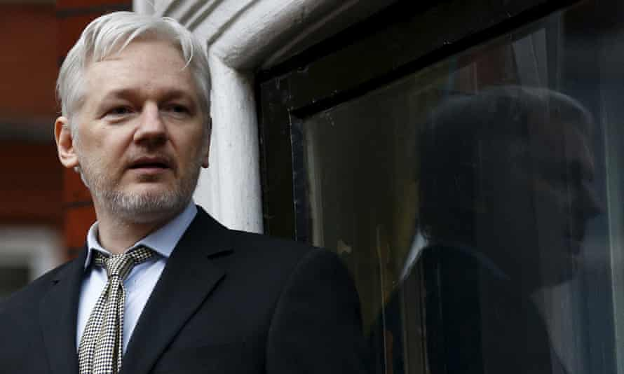 Opining on the legal status of Edward Snowden, Chelsea Manning, and his client, WikiLeaks founder Julian Assange (pictured), Ratner said all of them 'did their civic duty by disclosing information on government overreaching'.